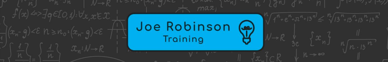Joe Robinson training